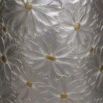 Engraved detail Detail of an engraved vase.