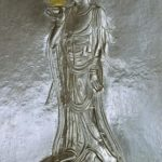 A Buddhist image from a Korean stone carving.