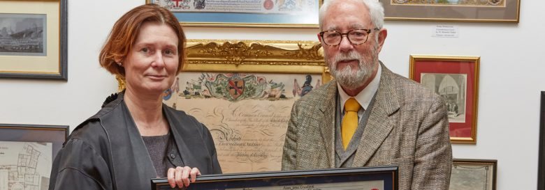 Alan Craxford Receives Freedom of the City of London