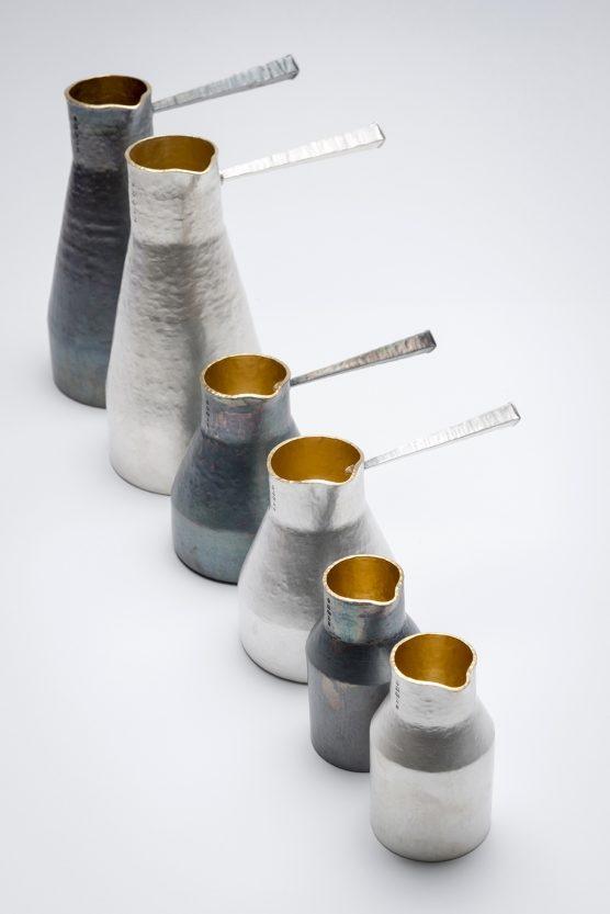 Stuart Jenkins set of jugs